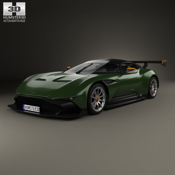 Aston Martin Vulcan 2015 - 3DOcean Item for Sale