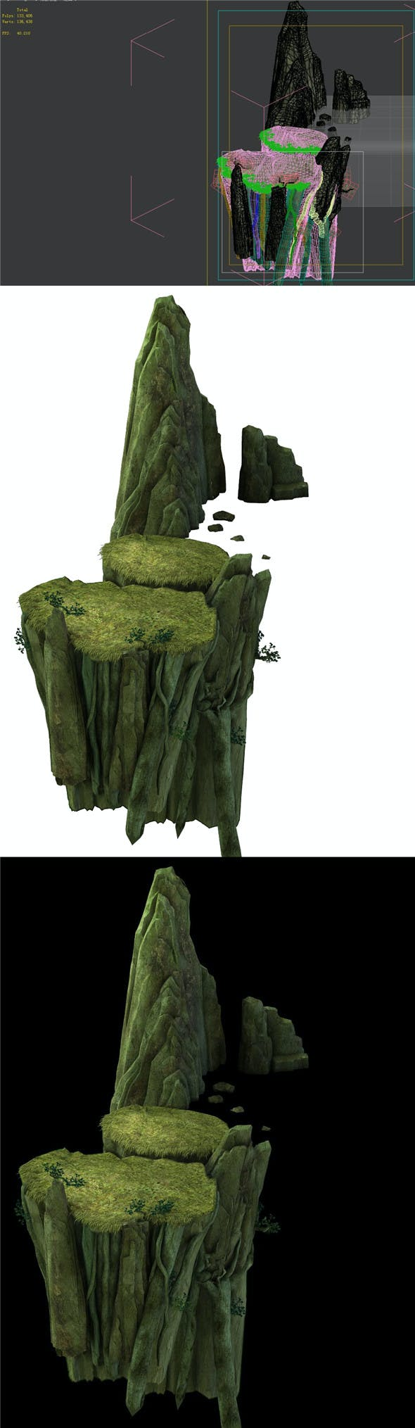 Game Model - Forest - Tree Bridge 02 - 3DOcean Item for Sale