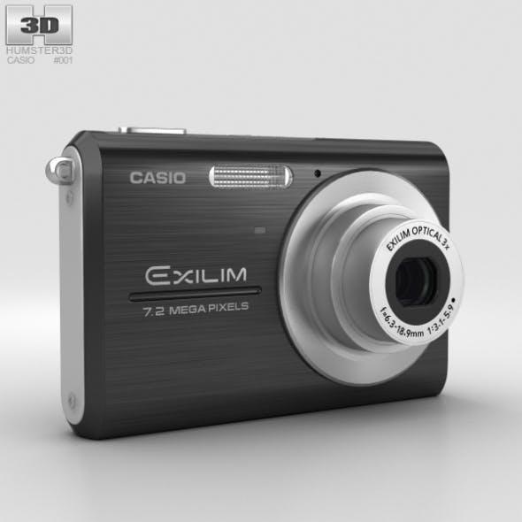 Casio Exilim EX-Z75 Black - 3DOcean Item for Sale
