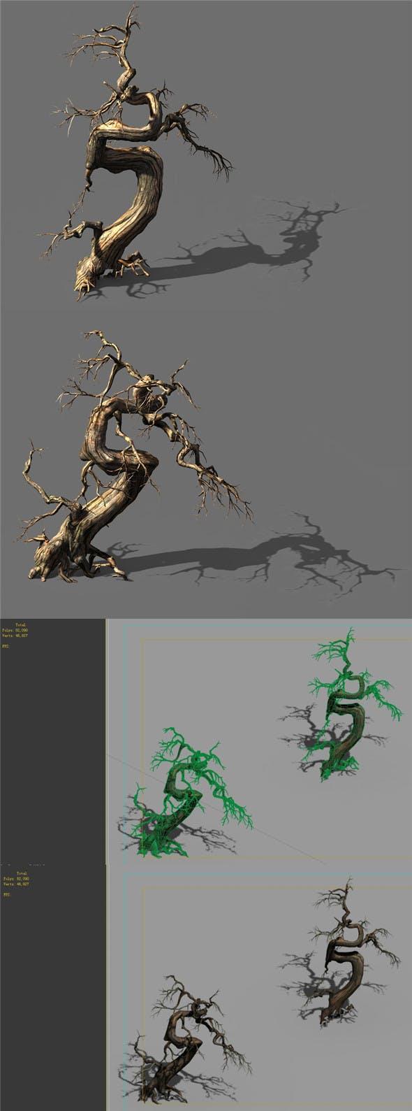 Game Model - Desert - Deadwood 11 - 3DOcean Item for Sale