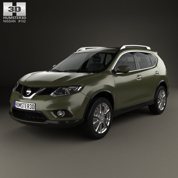 Nissan X-Trail 2015 - 3DOcean Item for Sale