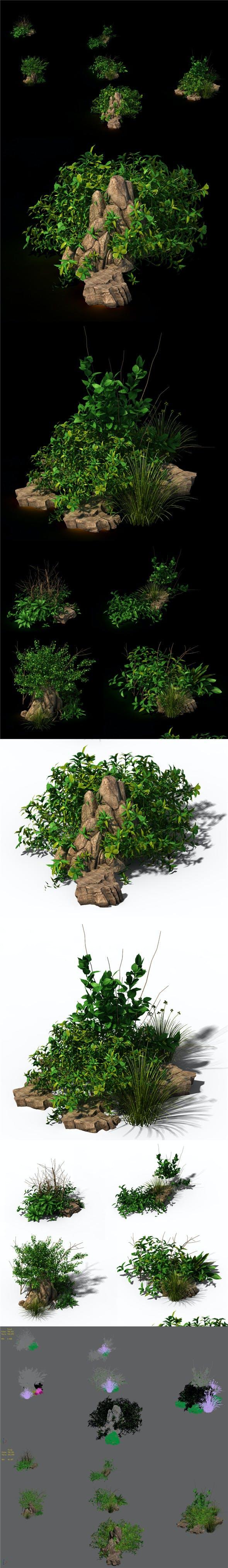 General plant - flowers 39 - 3DOcean Item for Sale
