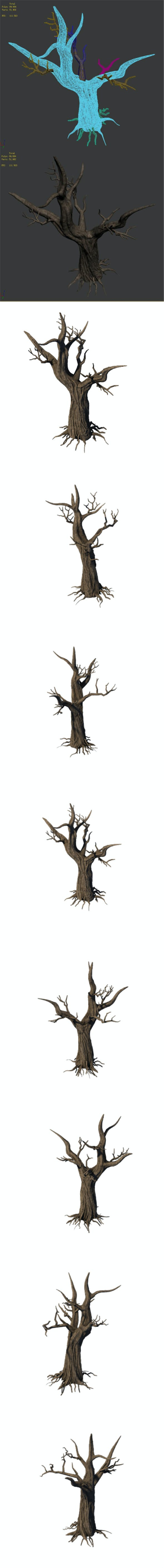General Plant - Trees 04 - 3DOcean Item for Sale