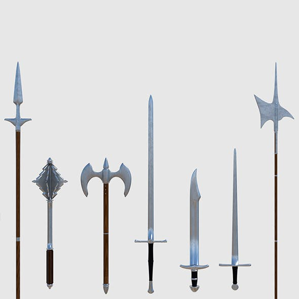 Medieval Weapons Pack - Game Ready