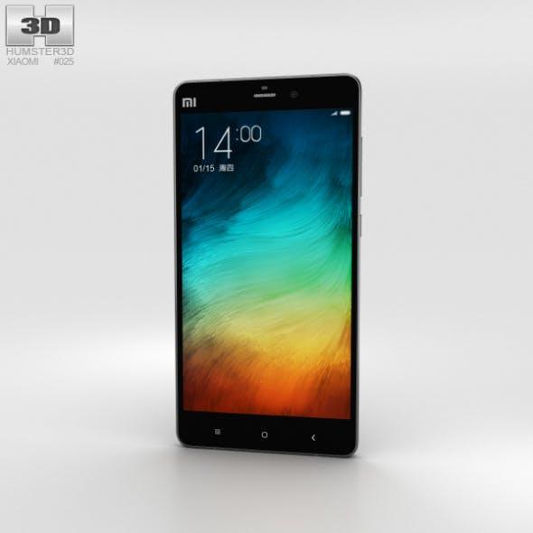 Xiaomi Mi Note Pro Black - 3DOcean Item for Sale