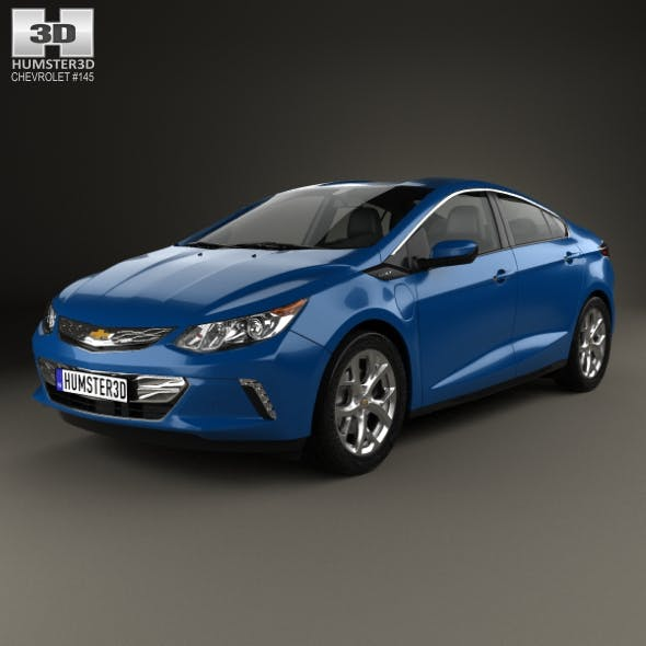 Chevrolet Volt 2015 - 3DOcean Item for Sale