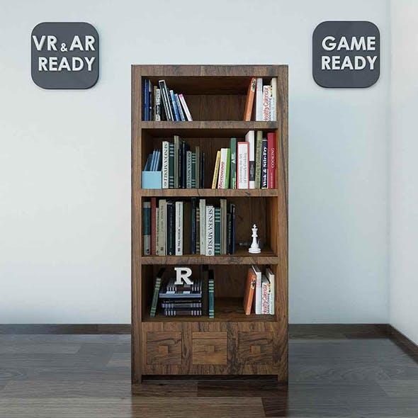 Bookshelf  VR_AR_Game Ready
