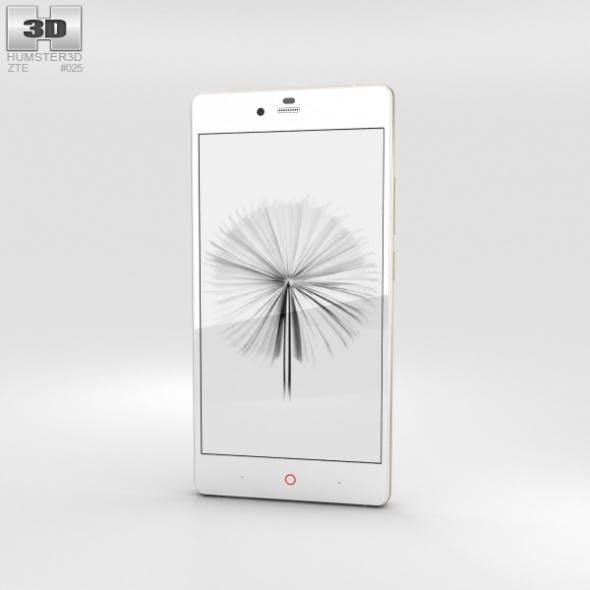 ZTE Nubia Z9 Max White - 3DOcean Item for Sale