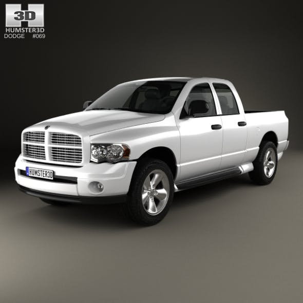 Dodge Ram 1500 Quad Cab SLT 2002 - 3DOcean Item for Sale