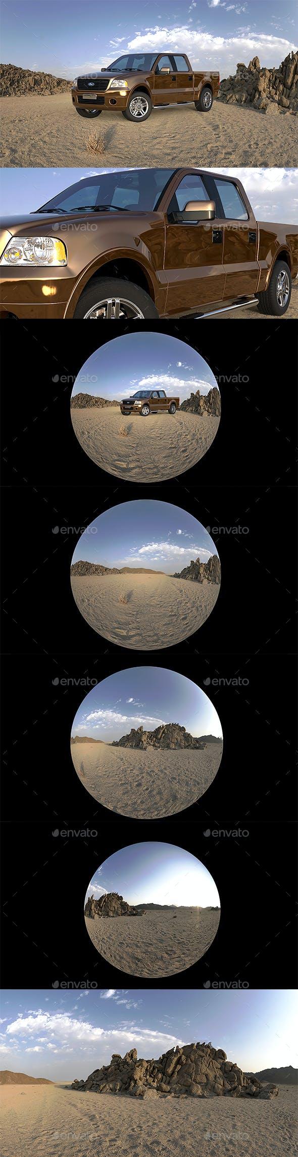 Ultimate HDRI Desert & Dawn Pack - 3DOcean Item for Sale