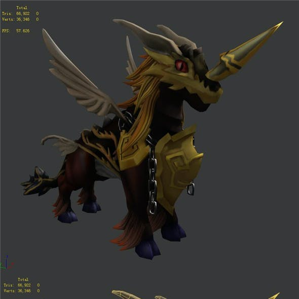The characters of the game - Golden Horns