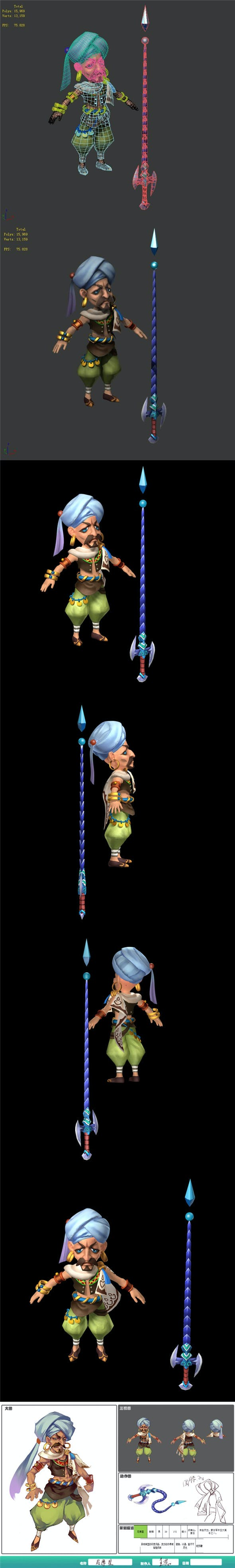 The characters of the game - Nemesis - 3DOcean Item for Sale