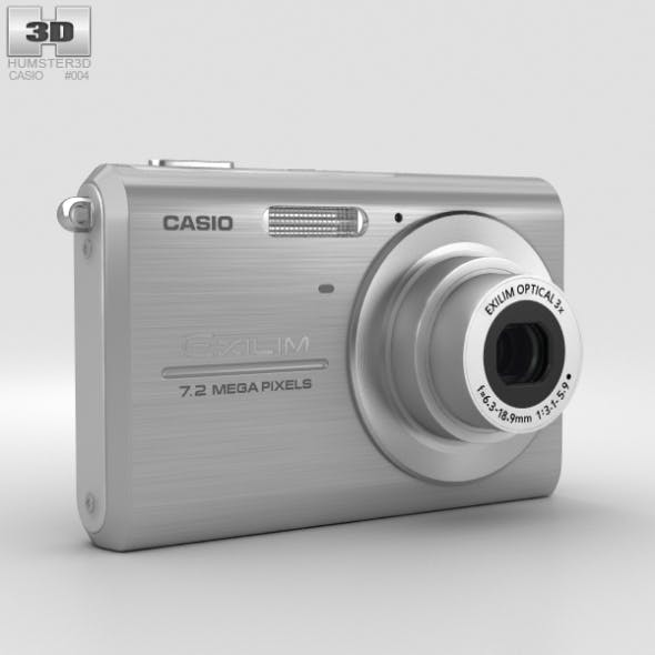 Casio Exilim EX-Z75 Silver - 3DOcean Item for Sale