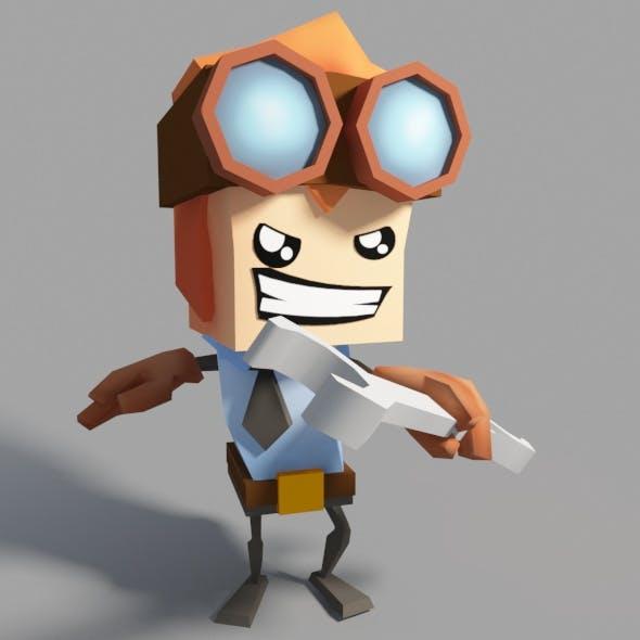 Minimal Engineer - 3DOcean Item for Sale