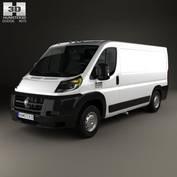Dodge Ram ProMaster Cargo Van L2H1 2013 - 3DOcean Item for Sale
