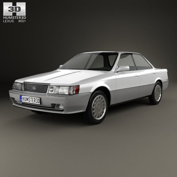 Lexus ES 1989 - 3DOcean Item for Sale