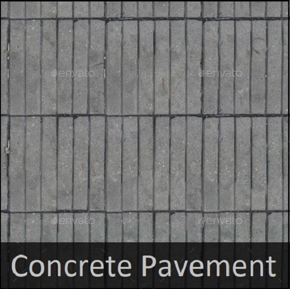 Concrete Pavement texture - 3DOcean Item for Sale