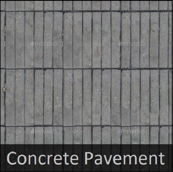 Concrete Pavement texture - 3DOcean Item for Sale
