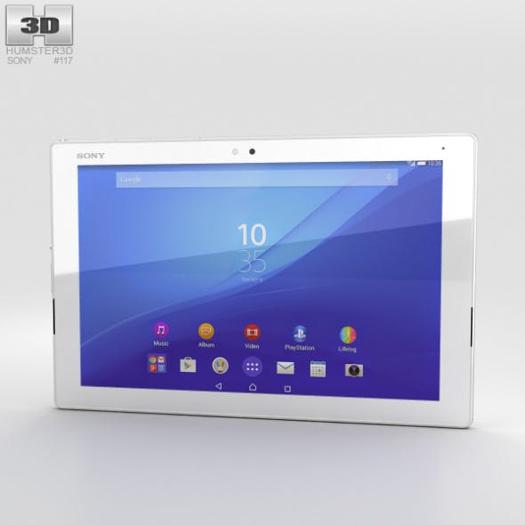 Sony Xperia Z4 Tablet LTE White - 3DOcean Item for Sale