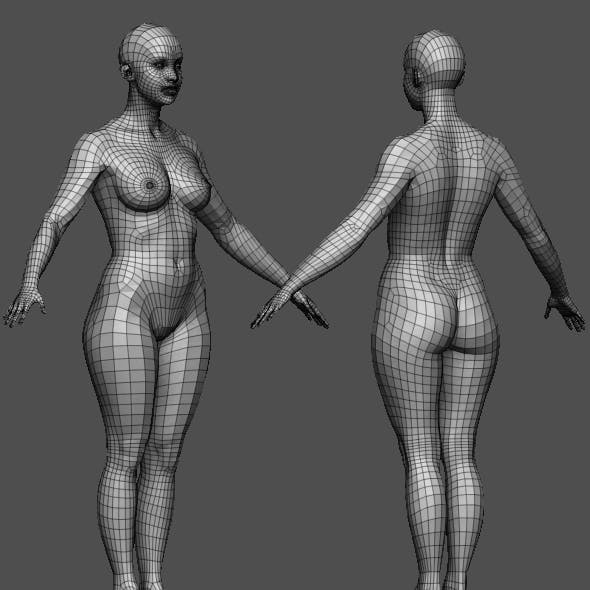 Realistic Female body