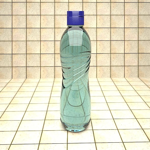 Water bottle - 3DOcean Item for Sale