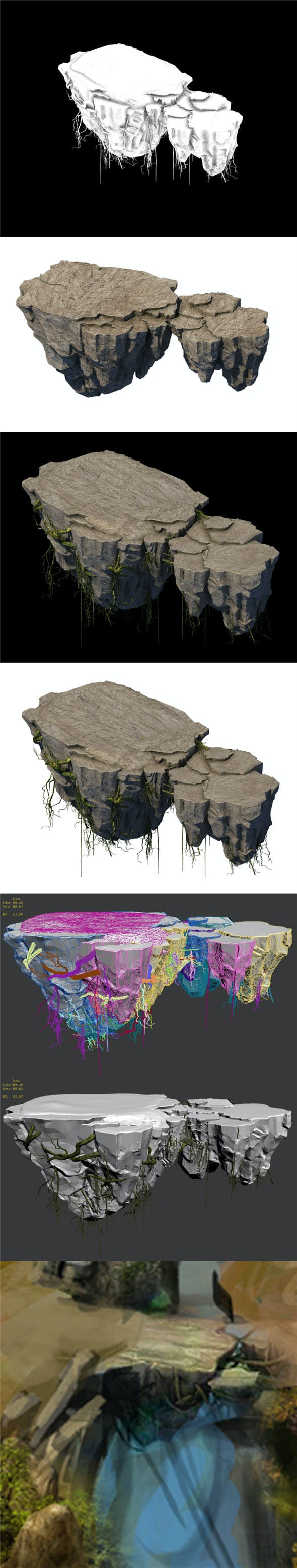 Suburb - Huanglongshan broken stone bridge - 3DOcean Item for Sale