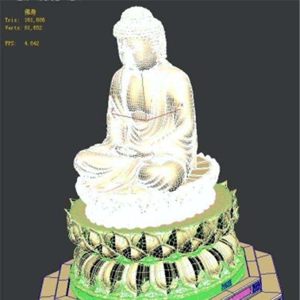 Stone - Buddha - base