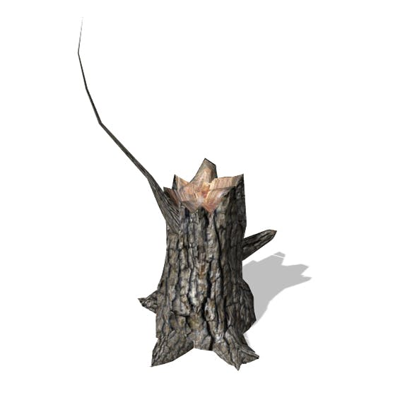 Stump - 00013 - 3DOcean Item for Sale