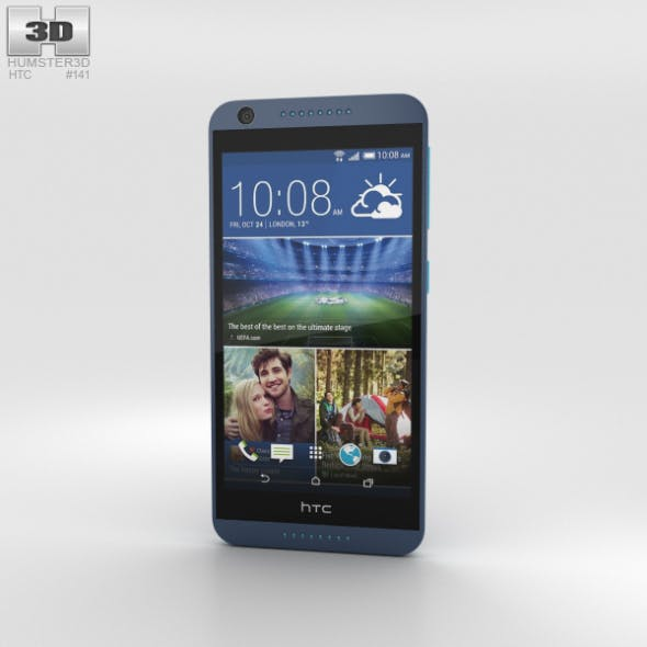 HTC Desire 626 Blue Lagoon - 3DOcean Item for Sale