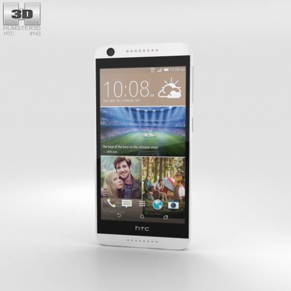 HTC Desire 626 White Birch - 3DOcean Item for Sale