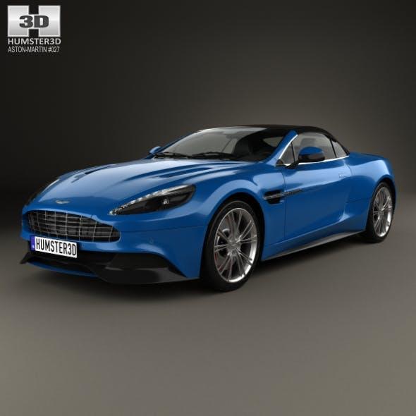 Aston Martin Vanquish Volante 2013 - 3DOcean Item for Sale