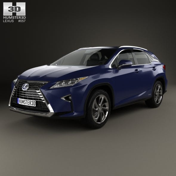 Lexus RX hybrid 2016 - 3DOcean Item for Sale