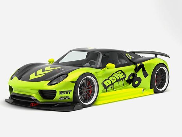 Porsche 918 Spyder Chimera One concept - 3DOcean Item for Sale