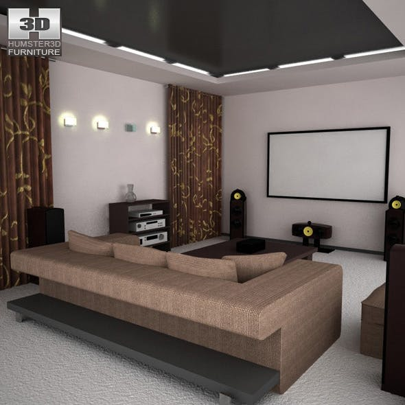 Home theatre set 5 - 3DOcean Item for Sale