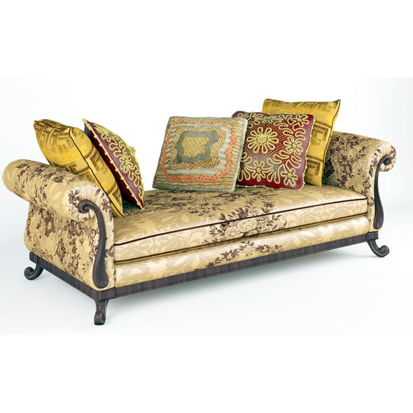 Royal Sofa With Pillows