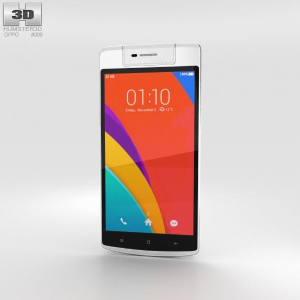 Oppo N3 White - 3DOcean Item for Sale