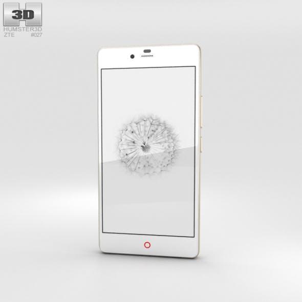 ZTE Nubia Z9 Mini White - 3DOcean Item for Sale