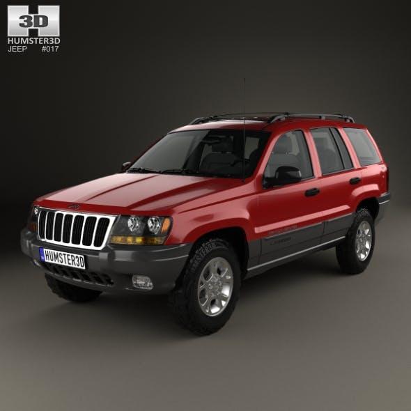 Jeep Grand Cherokee (WJ) 1998 - 3DOcean Item for Sale