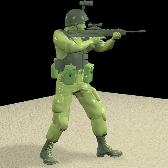 British Plastic Soldier - 3DOcean Item for Sale