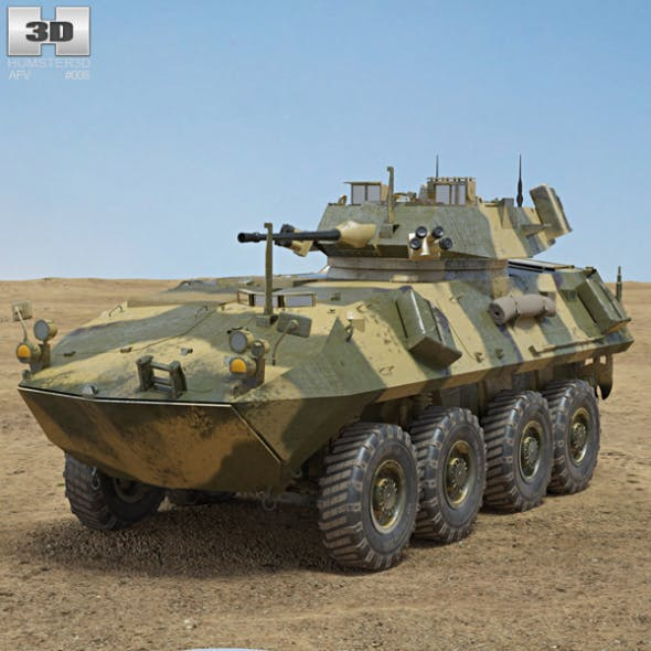 LAV-25 by humster3d | 3DOcean
