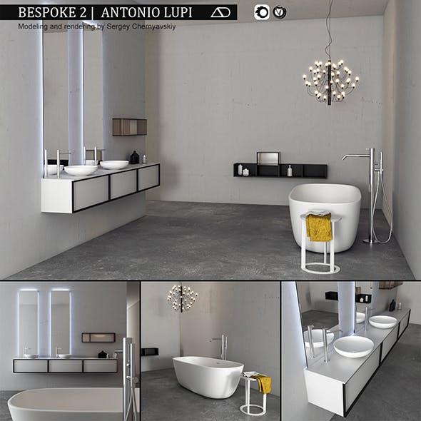 Bathroom furniture set Bespoke 2 - 3DOcean Item for Sale