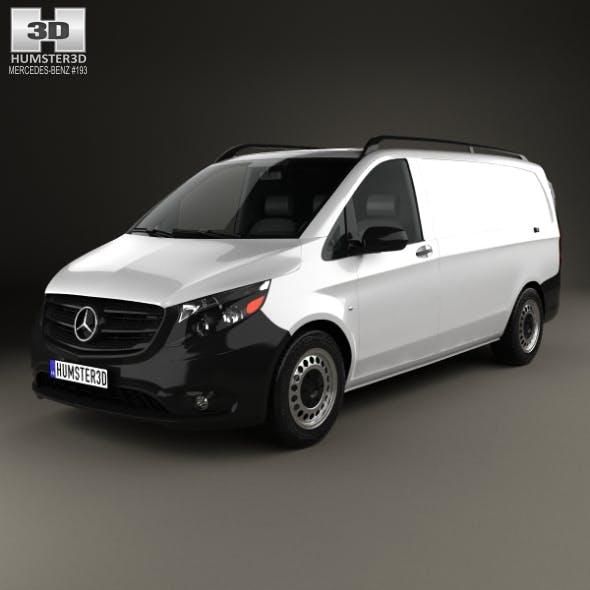 Mercedes-Benz Metris Panel Van 2014 - 3DOcean Item for Sale