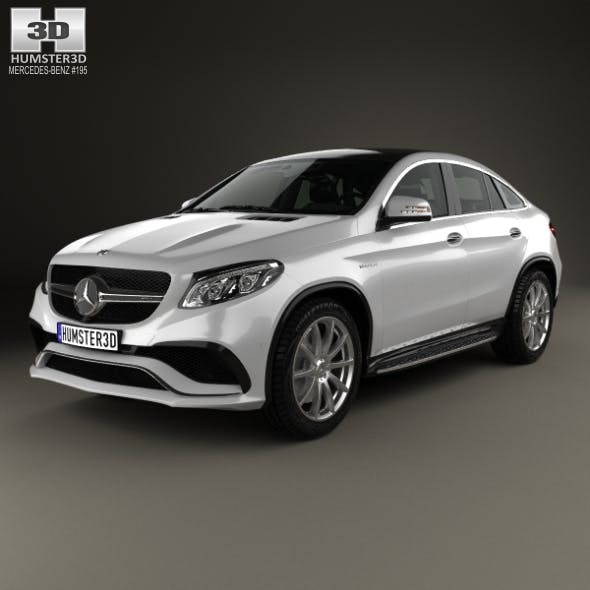 Mercedes-Benz GLE-Class (C292) Coupe AMG 2014 - 3DOcean Item for Sale