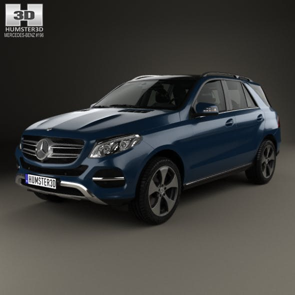 Mercedes-Benz GLE-Class (W166) 2014 - 3DOcean Item for Sale