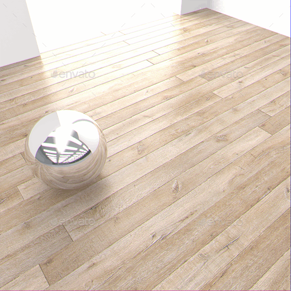 6 x Oak Wood Floor Textures - 3DOcean Item for Sale