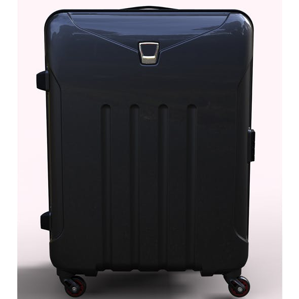 Polycarbonate Trolley Luggage - 3DOcean Item for Sale