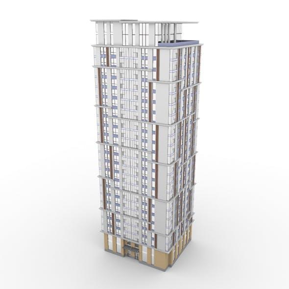 Residential Building 003 - 3DOcean Item for Sale
