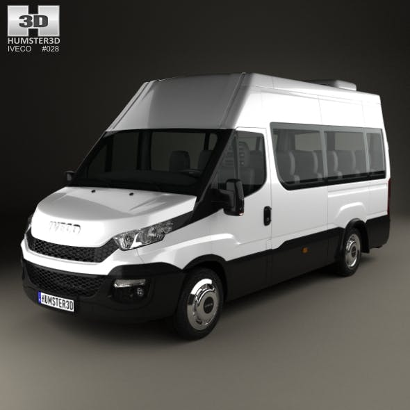 Iveco Daily Minibus 2014 - 3DOcean Item for Sale