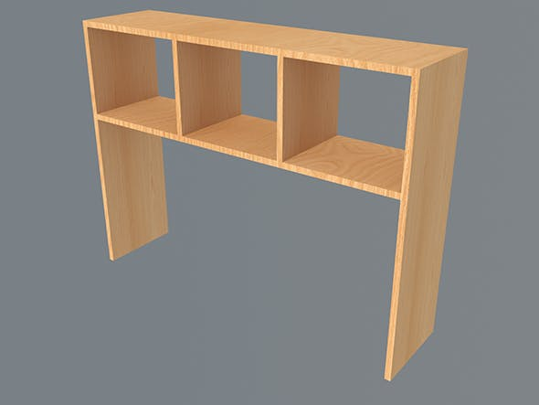 Table shelf 2 - 3DOcean Item for Sale