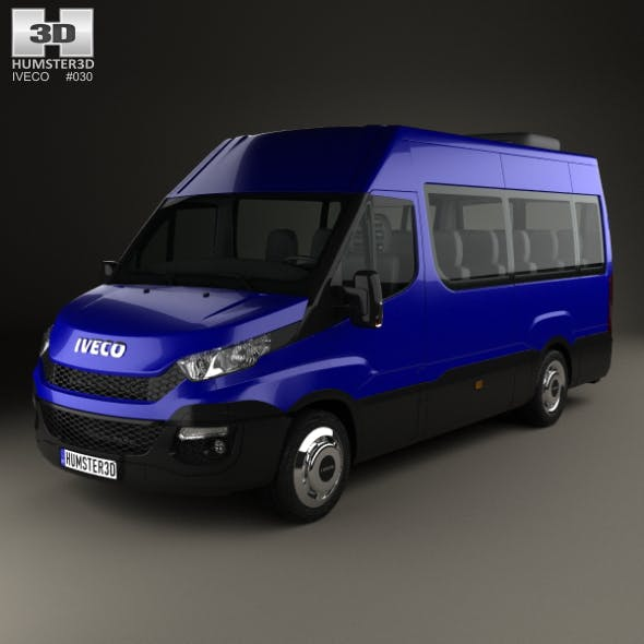Iveco Daily Passenger Van 2014 - 3DOcean Item for Sale